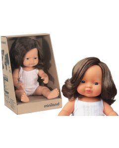 Hiszpańska lalka z winylu Europejka 38 cm Miniland - zdjęcie 1