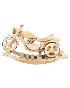 Motorek na biegunach Kandu Toys drewniany zdjecie 1