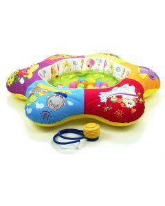 Nadmuchiwany basen mata dla niemowląt z piłeczkami