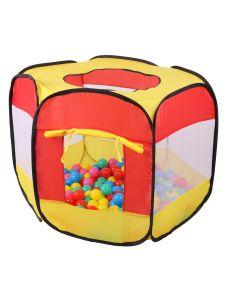 Namiot suchy basen z piłeczkami