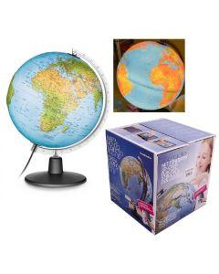 Globus plastyczny podświetlany 3D Nova Rico 30cm - zdjęcie 1