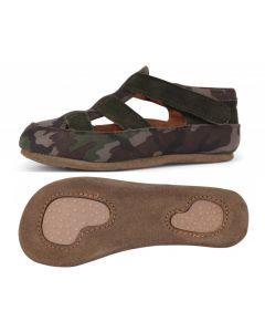 Obex Army buciki skórzane dziecięce moro/khaki- zdjęcie 1
