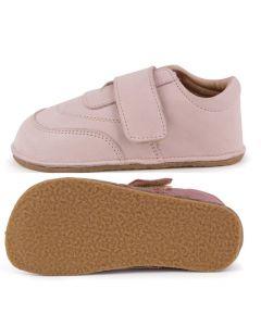 Obex Mia Outdoor Barefoot buciki skórzane dziecięce różowe - zdjęcie 1