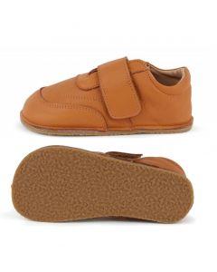 Obex Neali Outdoor Barefoot buciki skórzane dziecięce rude  - zdjęcie 1