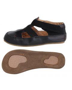Obex Brifi buciki skórzane dziecięce czarne - zdjęcie 1