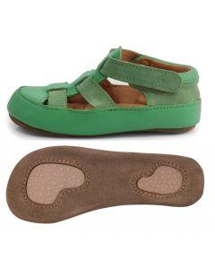 Obex Cala buciki skórzane dziecięce zielone - zdjęcie 1