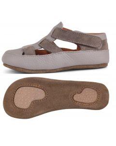 Obex Cayo buciki skórzane dziecięce popielate- zdjęcie 1