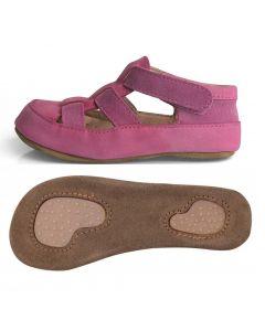 Obex Drimes buciki skórzane dziecięce różowe - zdjęcie 1