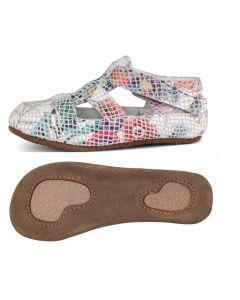 Obex Flower buciki skórzane dziecięce kolorowe - zdjęcie 1