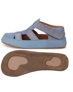 Obex Lambi buciki skórzane dziecięce niebiesko popielate  - zdjęcie 1