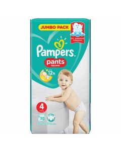 Pieluchomajtki Pampers Pants 4 (9-14kg) Jumbo pack 52 szt.