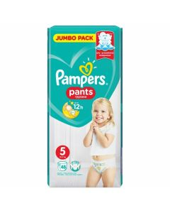 Pieluchomajtki Pampers Pants 5 (12-18kg) Jumbo pack 48 szt. - zdjęcie 1