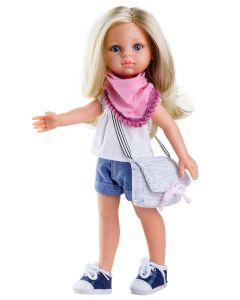 Hiszpańska lalka Paola Reina Claudia 32 cm  - zdjecie 3