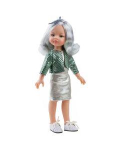 Hiszpańska lalka Paola Reina Manica 32 cm - zdjęcie 1