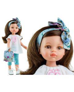 Hiszpańska lalka Paola Reina szczotka plecaczek akcesoria - zdjęcie 1