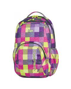 Plecak młodzieżowy Patio Cool Pack różowa krata - zdjęcie 1