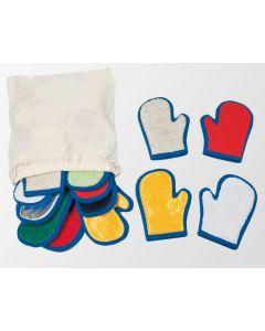 Rękawice sensoryczne Pilch zabawki do integracji sensorycznej