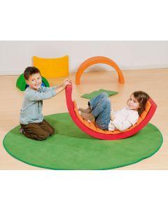 Kołyska, labirynt, tunel tęczowy Pilch zabawy relaksacyjne- zdjecie 1