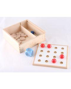 Układanki lewopółkulowe Pilch Magiczne Pudełko - zabawki i pomoce logopedyczne  - zdjęcie 1