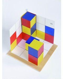 Cubicolor Pilch układanka na lewą półkulę mózgu - układanka lewopółkulowa drewniana - zdjęcie