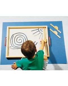 Wanna piaskowa z piaskiem kwarcowym dla dzieci duży zestaw - zdjęcie 1