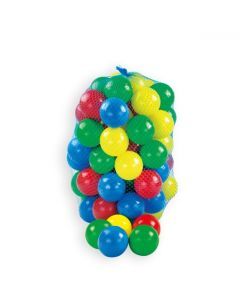 Kolorowe piłki do suchego basenu Mochtoys 100 szt w siatce