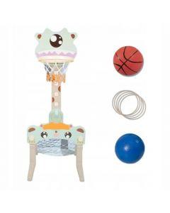 Plac zabaw dla dzieci koszykówka 3w1 Alien - zdjęcie 1
