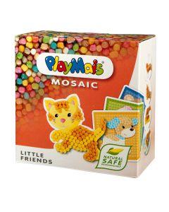 Klocki kukurydziane PlayMais Mali przyjaciele Mosaic - zdjęcie 1