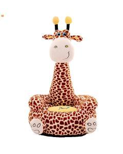 Pluszowy fotel dla dzieci Żyrafa zdjęcie 1