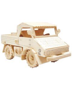 Ciężarówka puzzle drewniane 3D -zdjęcie 1