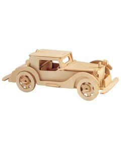 Samochód auburn puzzle drewniane 3D zdjęcie 1