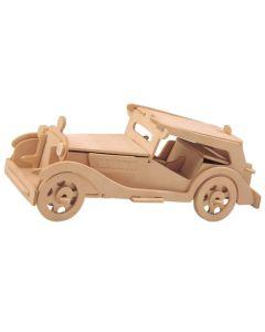 Samochód mg tc puzzle drewniane 3D - zdjęcie 1