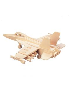 Samolot hornet puzzle drewniane 3D zdjęcie 1