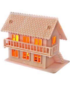 Willa II puzzle drewniane 3D - zdjęcie 1