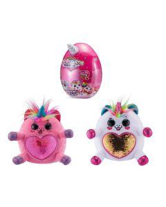 RAINBOCORNS jajko niespodzianka z magicznym zwierzakiem jednorożcem, chomikiem, kotkiem, małpką, szczeniaczkiem - zdjecie 1