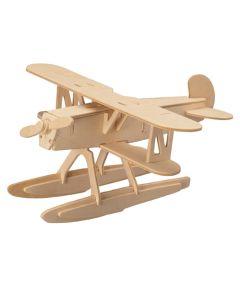 Samolot heinkel puzzle drewniane 3D - zdjęcie 1