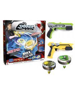 Zestaw Deluxe Battle 2-pack Spinner Mad Silverlit Arena - zdjecie 1