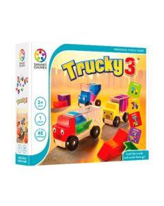 Smart Games 3 Traki drewniana gra przedszkolna wersja PL - zdjęcie 1