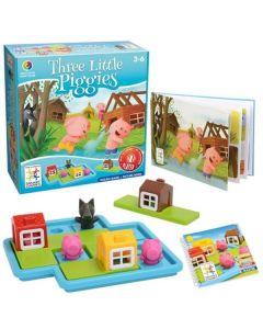 Smart Games Trzy małe świnki Deluxe gra przedszkolna - zdjęcie 1