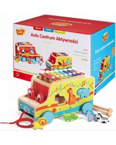 Auto Centrum Aktywności Smily Play z cymbałkami - zdjęcie nr 1