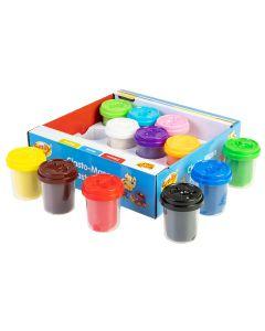 Ciasto-Masa plastyczna ciasto-lina SMily Play 12 kolorów - zdjęcie 1