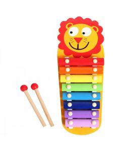 Drewniane cymbałki dla dzieci Smily Play Lew - zdjęcie nr 1