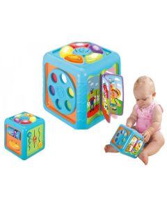 Kostka interaktywna edukacyjna sensoryczna Smily Play - zdjecie 1