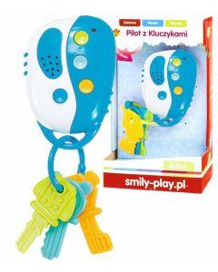 Pilot z kluczykami Smily Play interaktywny niebieski - zdjecie 1