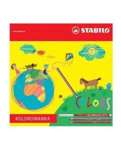 Kolorowanka dla dzieci Stabilo - kolorowanki i malowanki dla dzieci
