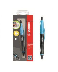 Ołówek automatyczny Stabilo Smartgraph dla leworęcznych niebieski - zdjęcie 1