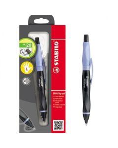 Ołówek automatyczny i rysik Smartgraph dla leworęcznych fiolet