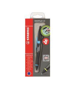 Rysik i długopis 2w1 Smartball dla praworęcznych niebieski