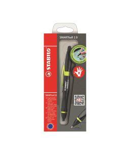 Rysik i długopis 2w1 Smartball dla praworęcznych zielony