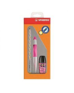 Zestaw szkolny dla leworęcznych Stabilo ołówek+ pióro kulkowe+ zakreślacz